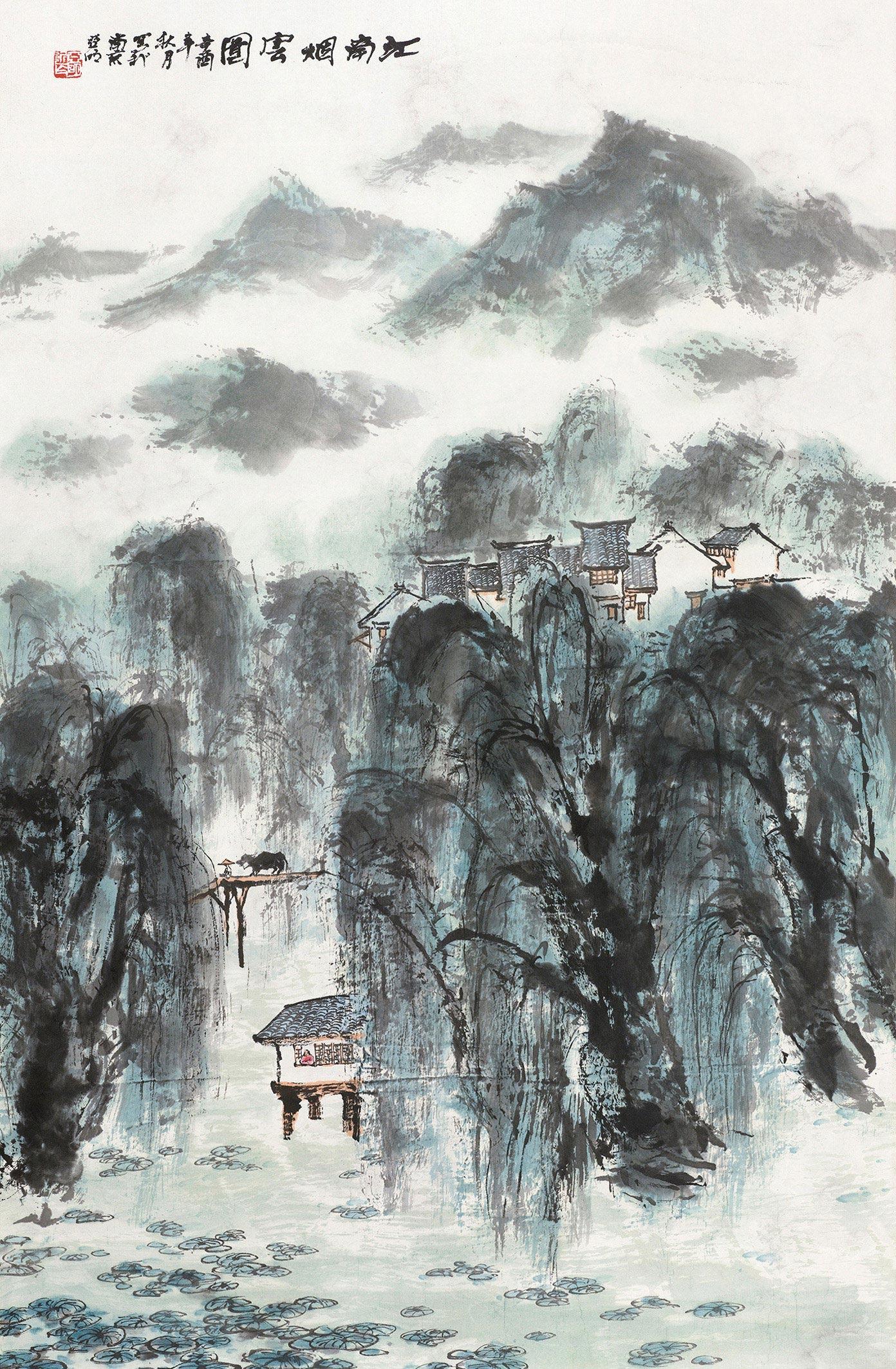 江南烟雨图