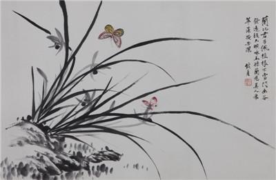 兰花蝴蝶-拍品抢先看-荣宝斋(上海)2014秋季拍卖会